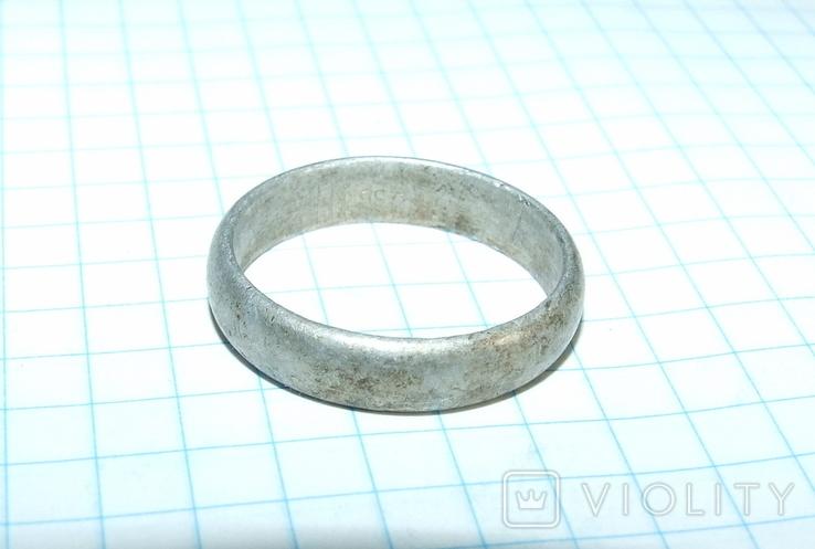 Кольцо обручалка СССР, фото №7