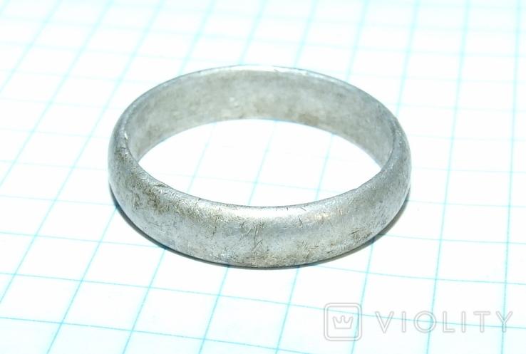 Кольцо обручалка СССР, фото №8
