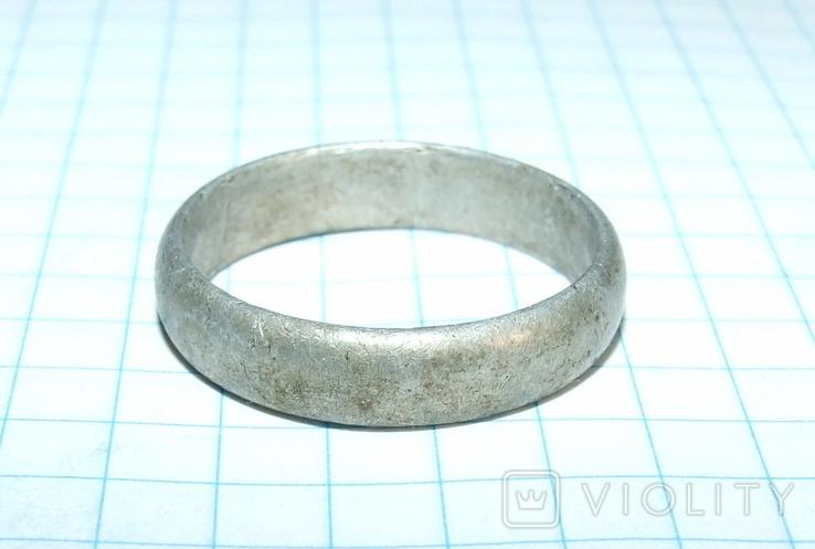 Кольцо обручалка СССР, фото №10