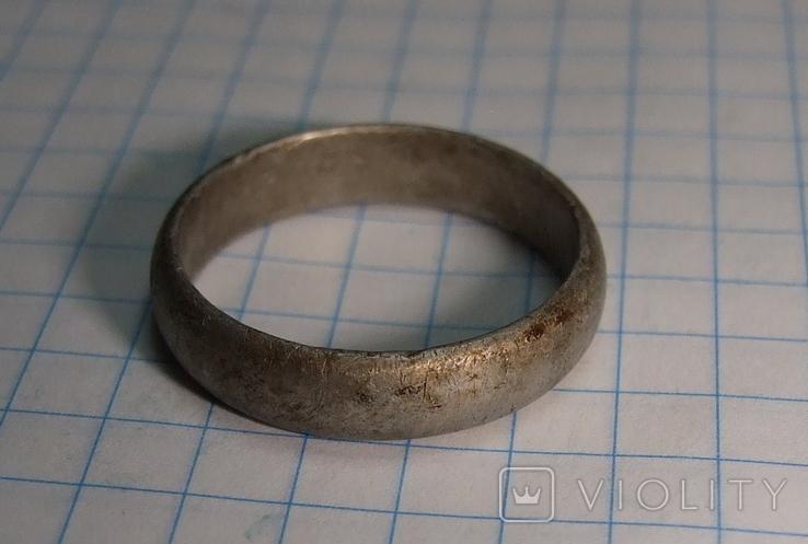 Кольцо обручалка СССР, фото №11