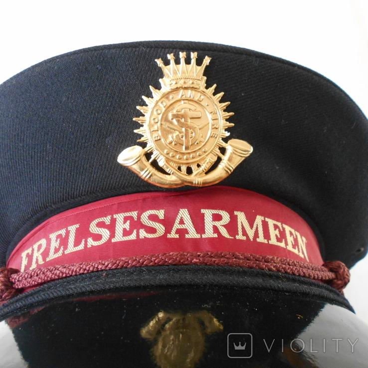 Фуражка FRELSESARMEEN Армия спасения, фото №2