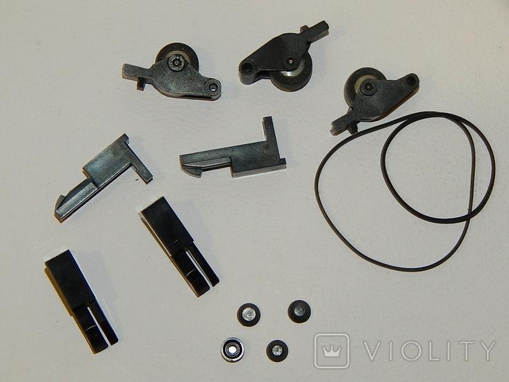 Прижимные ролики направляющие кассетным магнитофоном, фото №3