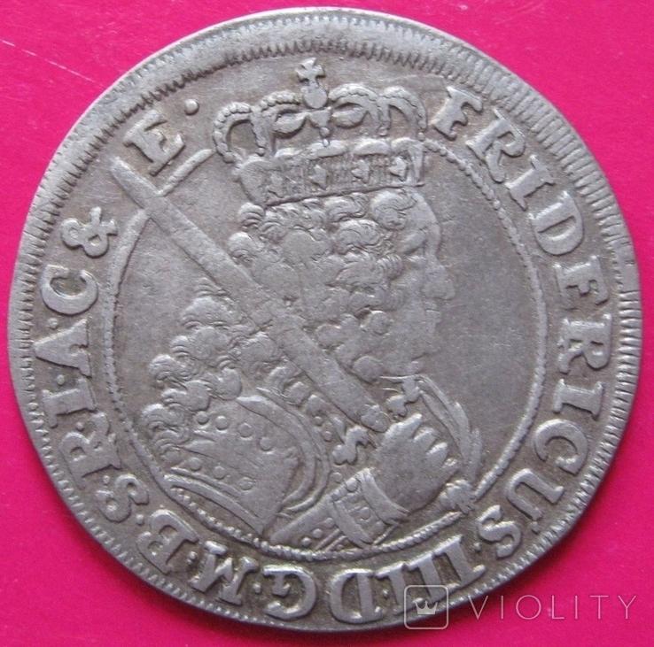 Орт 1699 Фридрих III Пруссия