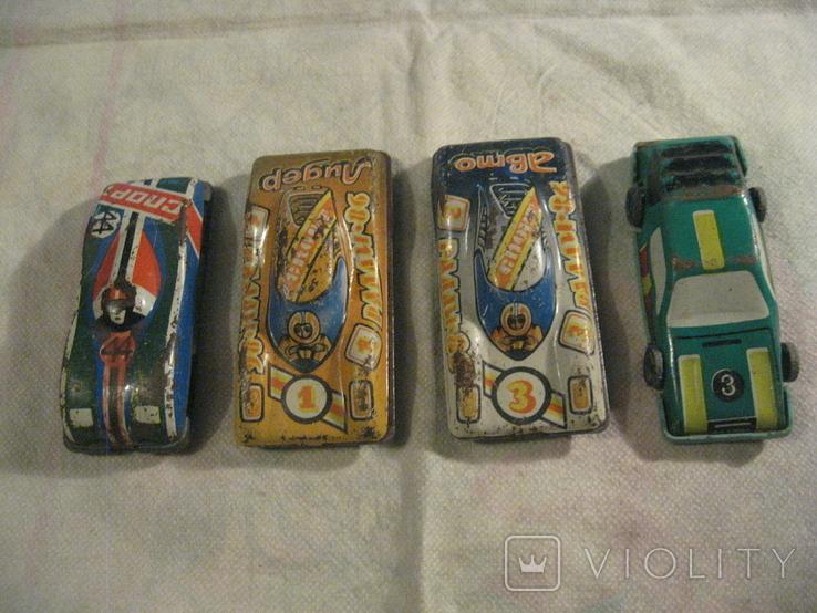 4 железных машинок., фото №2