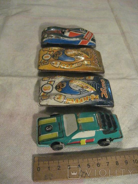 4 железных машинок., фото №6