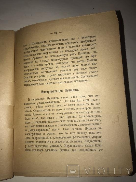 1925 Пушкин Б. Томашевский, фото №8