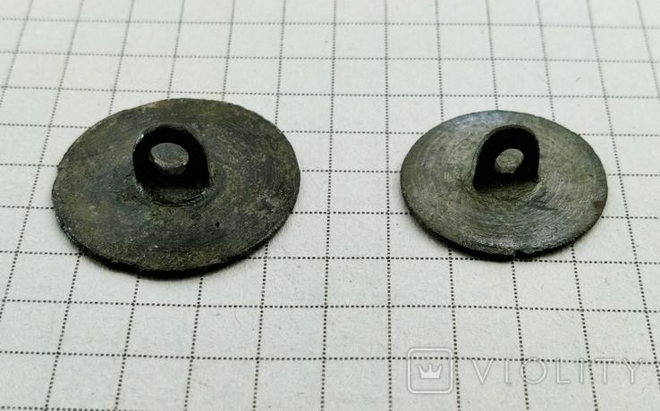 Две пуговицы с солярным орнаментом, фото №4