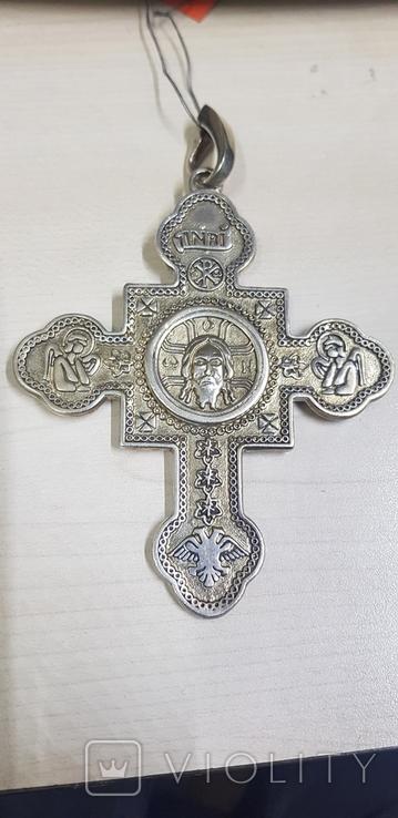Крест серебро 925 проба., фото №2
