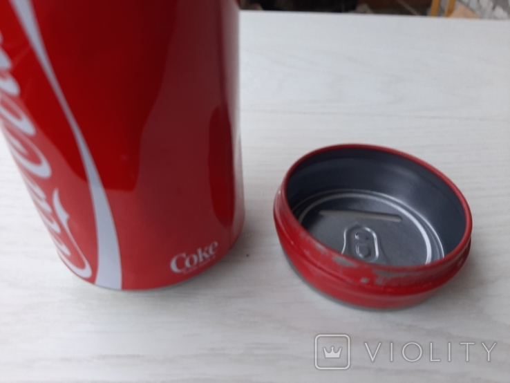 Копилка для монет в виде банки Coca Cola (Германия), фото №6
