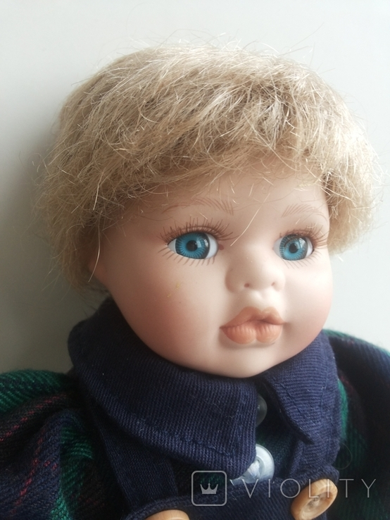 Кукла фарфоровая, фото №5