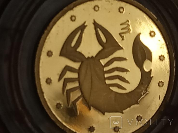 2 грн 2007 Скорпион из золота, фото №8
