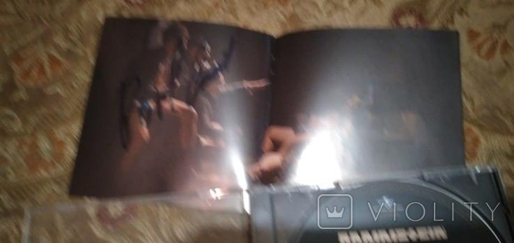 """Диск Rammstein с автографами группы, альбом """"Liebe ist für alle da"""", фото №4"""