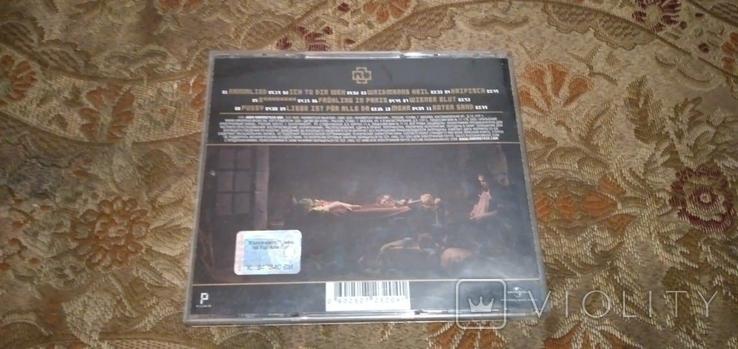"""Диск Rammstein с автографами группы, альбом """"Liebe ist für alle da"""", фото №7"""