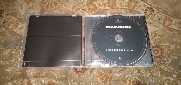 """Диск Rammstein с автографами группы, альбом """"Liebe ist für alle da"""", фото №8"""