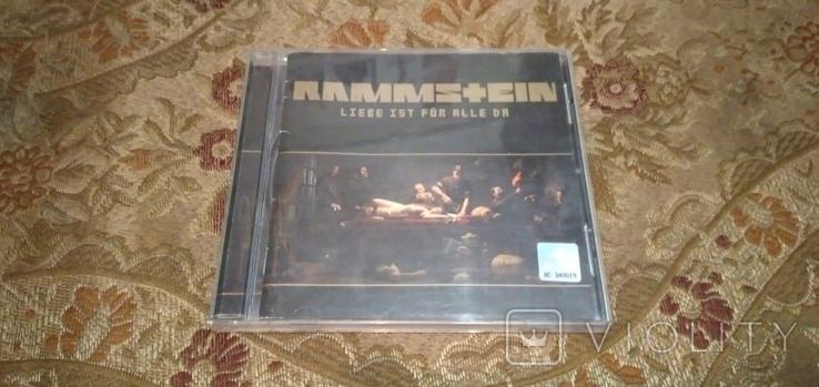 """Диск Rammstein с автографами группы, альбом """"Liebe ist für alle da"""", фото №2"""