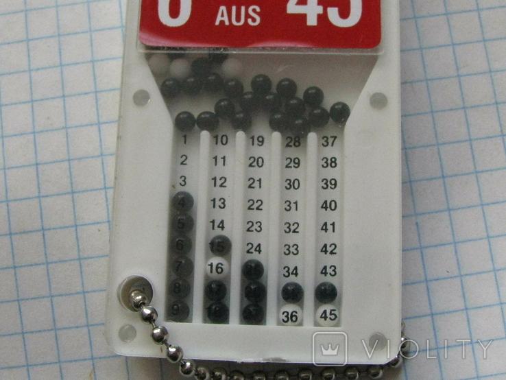 Лото 6 из 45.карманное, фото №6