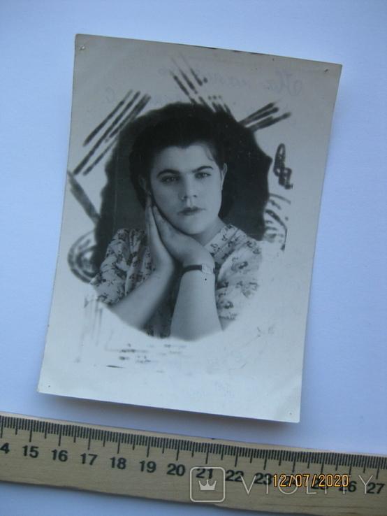 Фото девушки 1952 г., фото №2