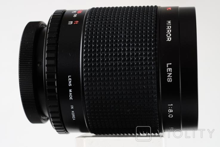 Walimex MC 8/500mm зеркально-линзовый Canon FD байонерт, фото №6