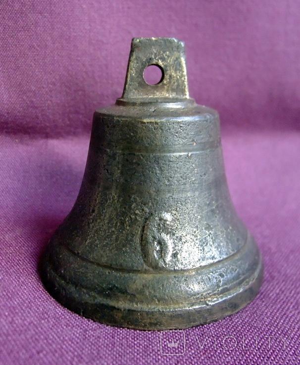 Колокольчик поддужный №6 бронза ХІХв. - начало ХХ века., фото №2