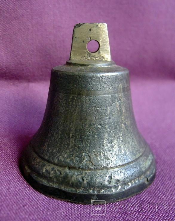 Колокольчик поддужный №6 бронза ХІХв. - начало ХХ века., фото №4