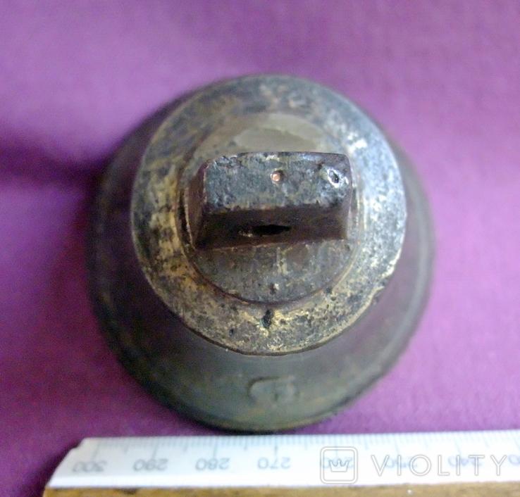 Колокольчик поддужный №6 бронза ХІХв. - начало ХХ века., фото №10