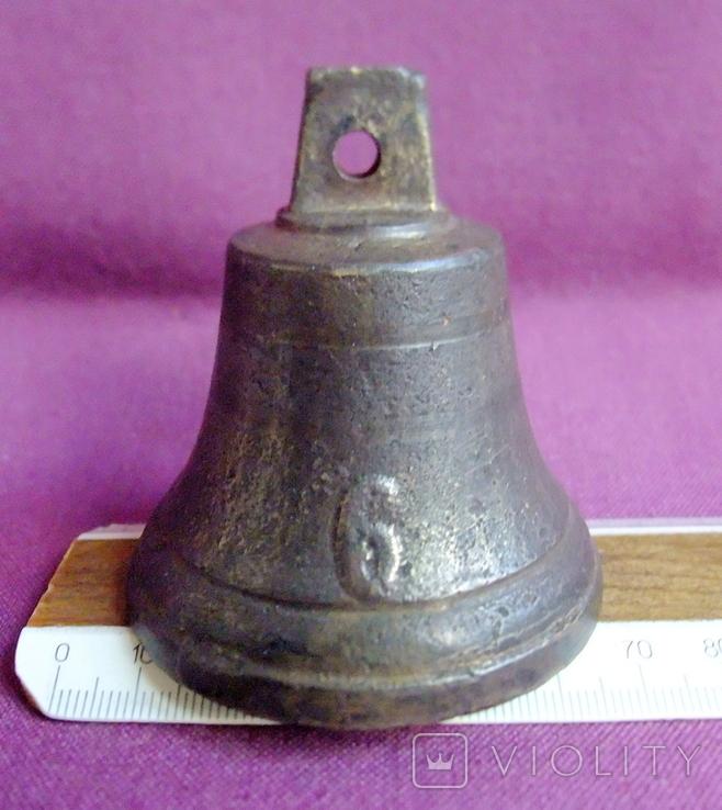 Колокольчик поддужный №6 бронза ХІХв. - начало ХХ века., фото №11