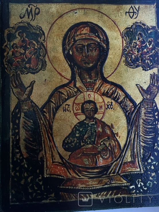 Икона Знамение, фото №3