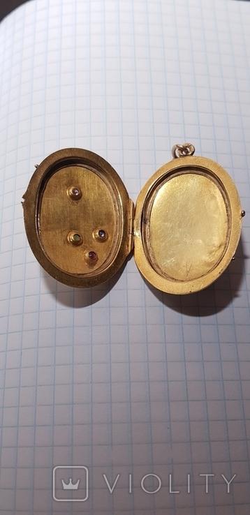 Кулон золото 56 проба., фото №8