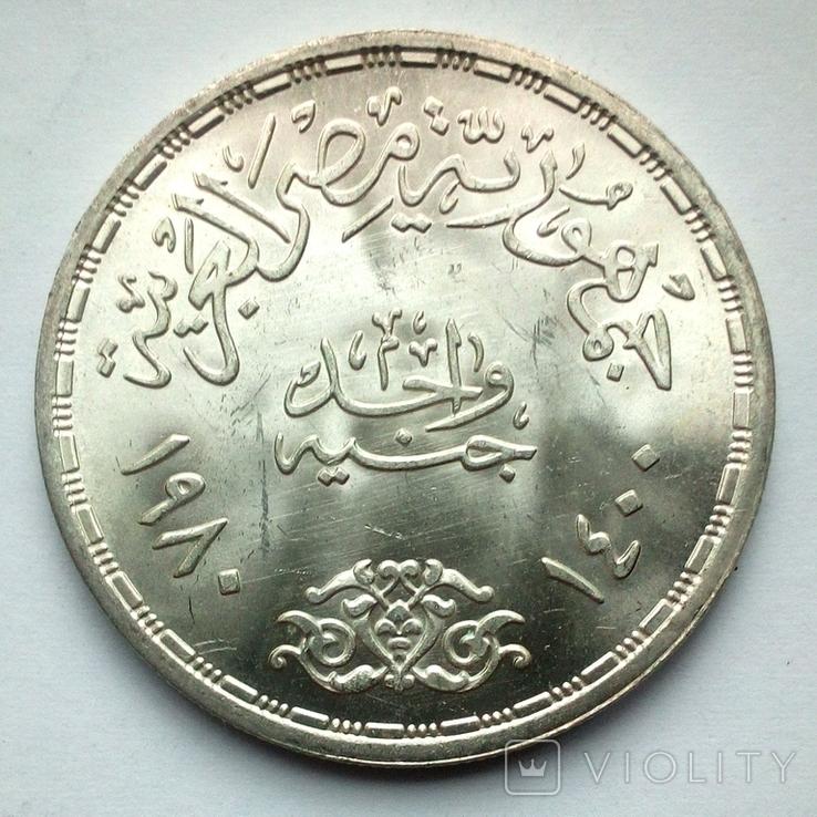 Египет 1 фунт 1980 г. - Прикладные профессии, фото №6