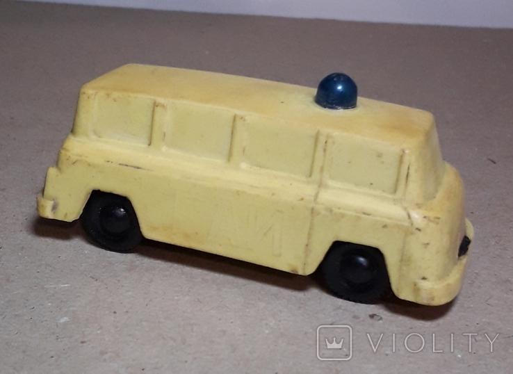 Машинка ГАИ из СССР 60-70-е годы, фото №6
