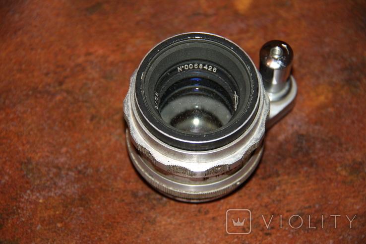 Объектив Гелиос 44 на фотоаппарат Старт. №47.193, фото №2