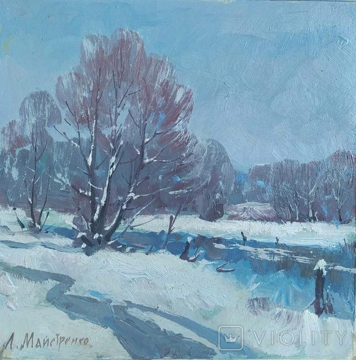 Лопань у зимку