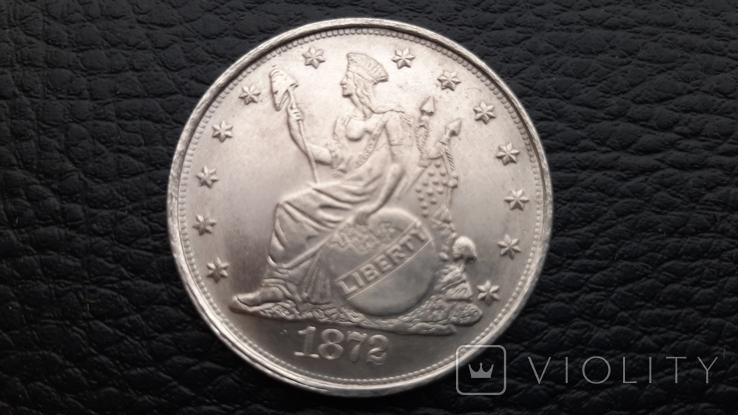 Копія монети Trade Dollar 1872, фото №2