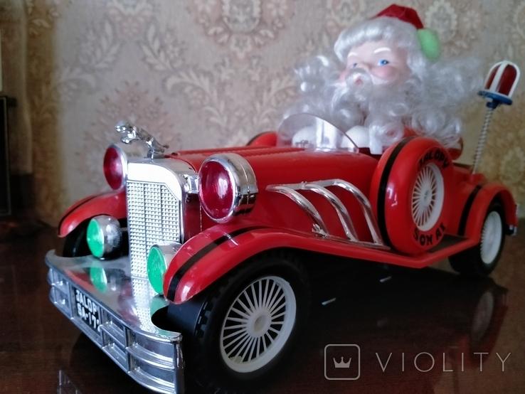 Дед Мороз в автомобиле, фото №8