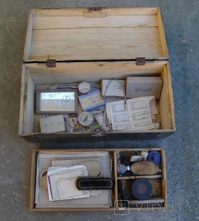 Сундук с личными вещами солдата до 1945 года., фото №7