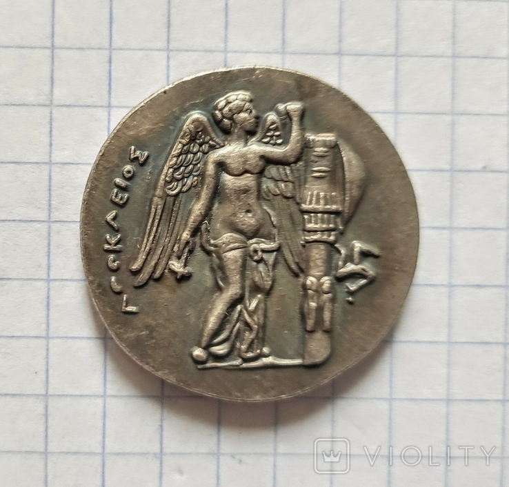 Монета. Древняя Греция.  Реплика, фото №3
