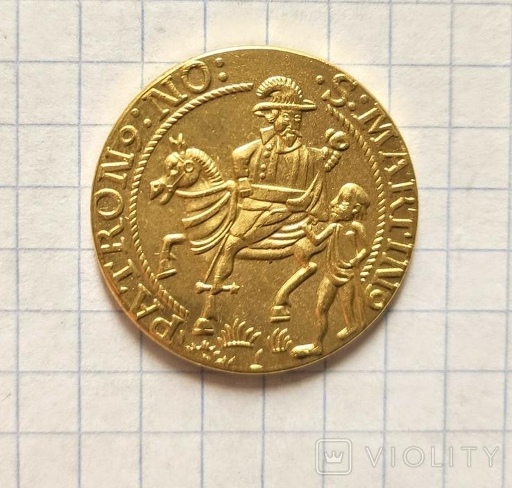 Монета. Франция. 1635г. Реплика, фото №2