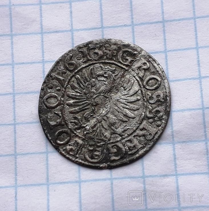 Грош 1613 год, фото №2