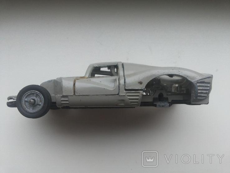 Модель Ferrari A-27 made in URSS 1/43 с утратами, фото №8