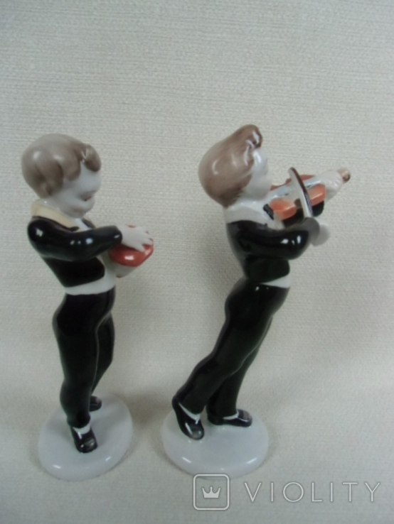 Юнныйе музиканты №2 Венгрия .Холохаза .Ручная роспись., фото №5