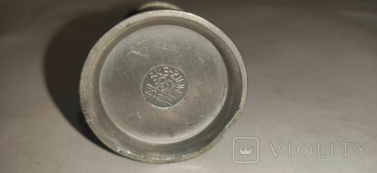 Кружка пивная, мини, олово, Германия, фото №9