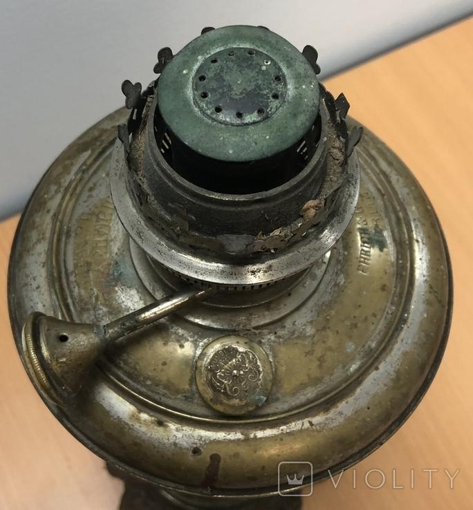 Керосиновая лампа чудо, Отто Миллер Берлин. Высота - 40 см, фото №9