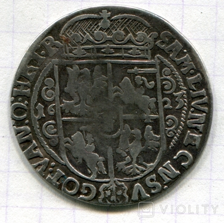 Сігізмунд ІІІ орт 1623 Польща, фото №3