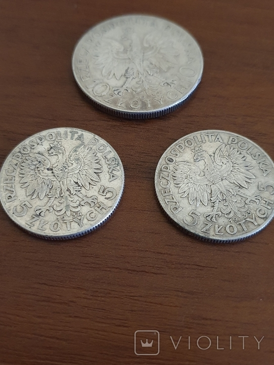 Ядвига 3 монеты, фото №3