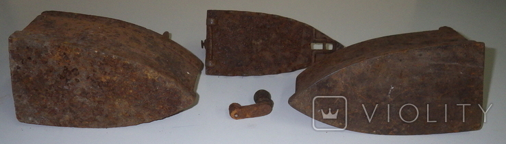 Утюги на реставрацию, 2 шт., фото №7