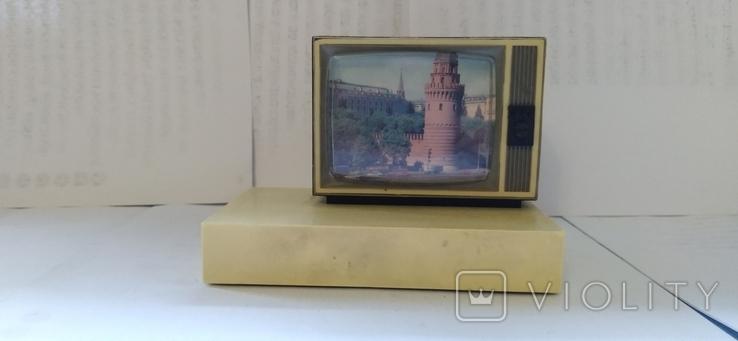 """Сувенірний радіоприймач """"Телевізор""""Кулебакскій завод радиоузлов. Сувенір, фото №2"""