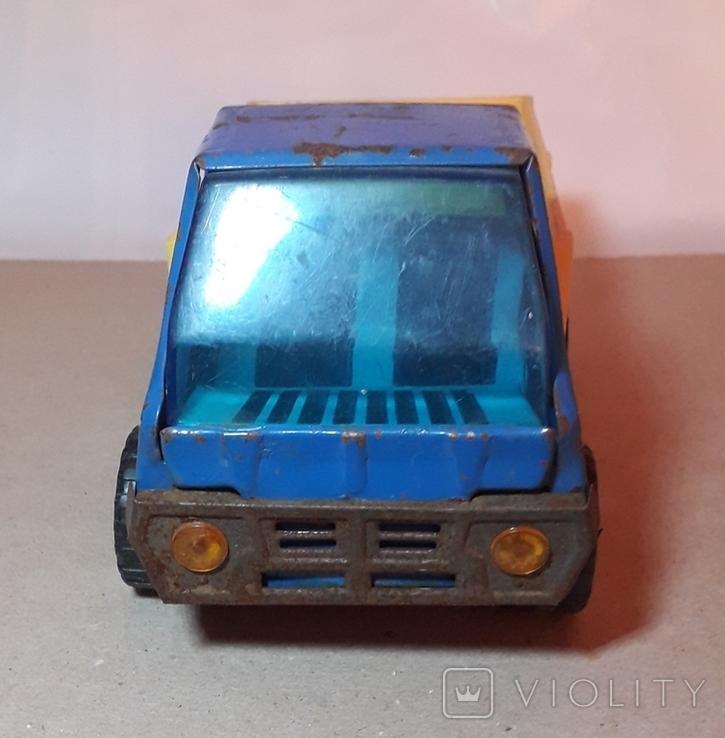 Грузовая машинка времён СССР длина 20,5 см., фото №5