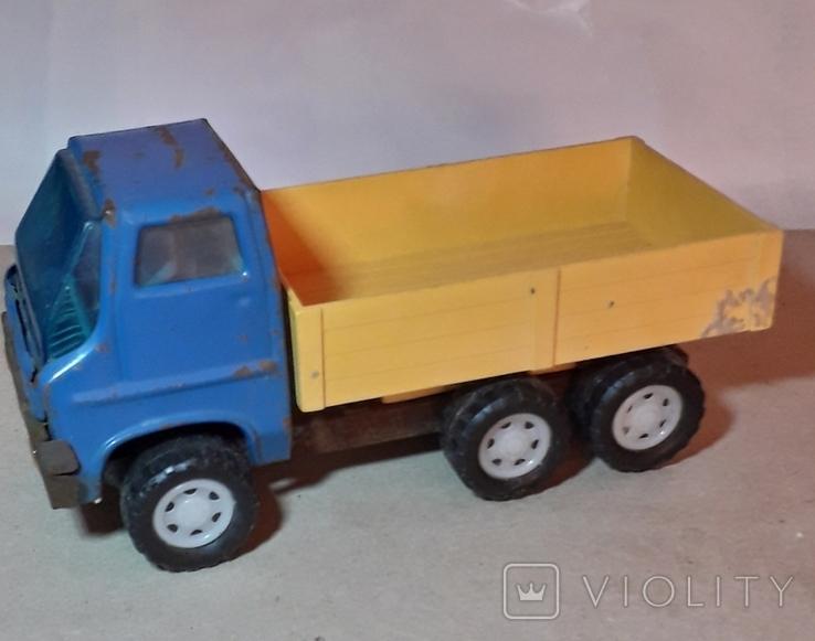 Грузовая машинка времён СССР длина 20,5 см., фото №6