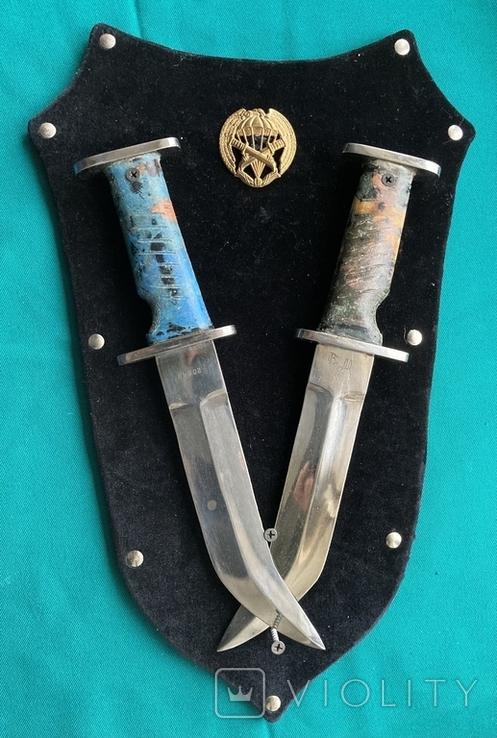 Два ножі чилійського спецназу Korvo (копії), фото №2