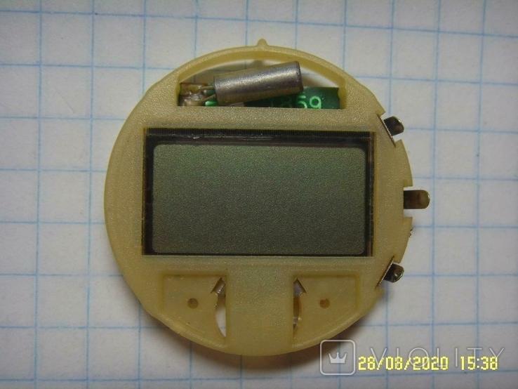 Механизм для электронных часов, Не рабочий на запчасти. №2, фото №2